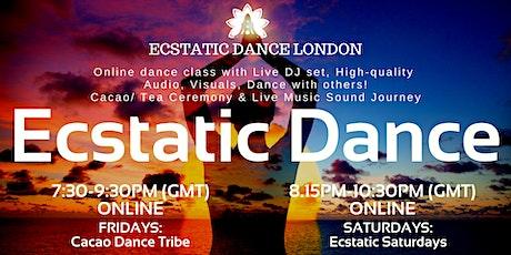 ECSTATIC DANCE LONDON Livestream- *ONLINE  Classes* on FRI, SAT tickets