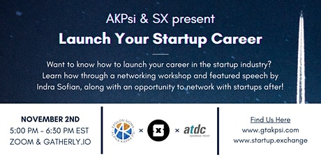 Launch Your Startup Career tickets