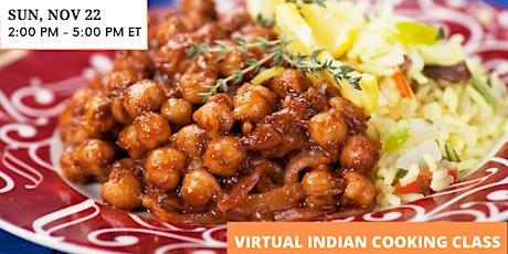 Indian Cooking Masterclass - Chana Masala, Gobi Aloo, Masala Chai and More! tickets
