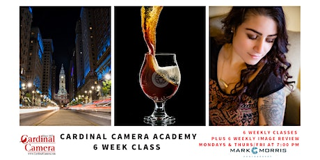 Cardinal Camera Academy - 6-Week Online Photography Course with Mark Morris tickets