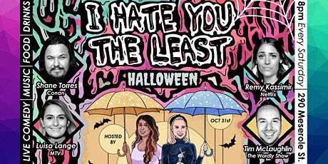 I Hate You The Least Comedy Show at Now & Then Bar tickets