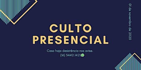 Culto 01/11/2020 - Igreja Batista Renovada Ministério Ribeirão Preto ingressos