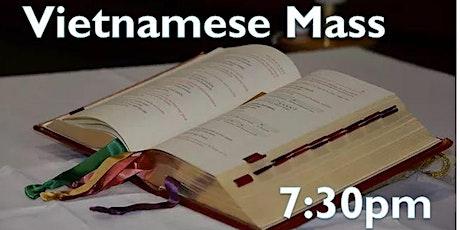 Vietnamese Mass at 7:30pm tickets