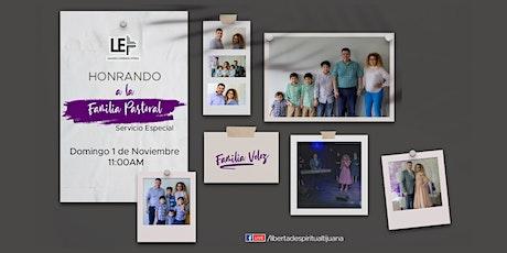 """Servicio Especial """"Honrando a la familia pastoral"""""""
