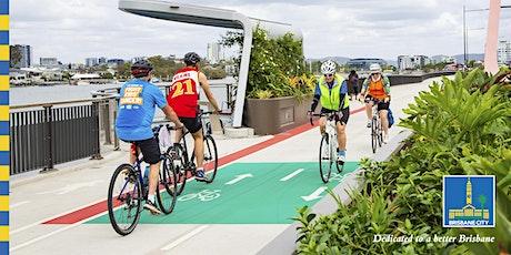 Brisbane by Bikeway: Lores Bonney Riverwalk tickets