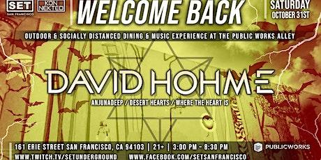 SET's Halloween Saturday w/ David Hohme (Anjunadeep, Desert Hearts) tickets