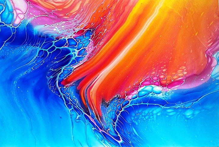 Acrylic Pouring with Katrina McNicol (1.5 Days) image