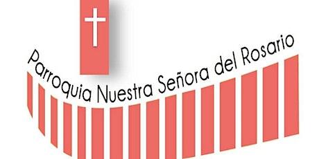 NS del Rosario Misa y Rosario Miércoles 04 - 19:00hrs entradas