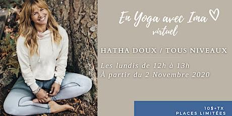 En Yoga avec Ima virtuel - Hatha doux billets