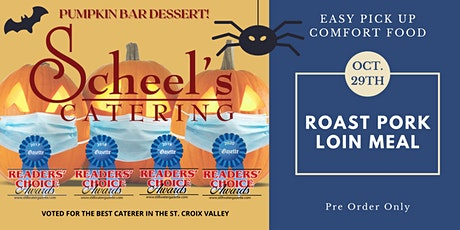 Scheel's Catering Curbside Meal tickets