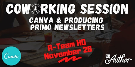 CoWorking Session - Producing Primo eNewsletters! tickets