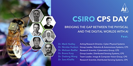 CSIRO CPS Day -Bridging the Gap Between the Physical & Digital Worlds tickets