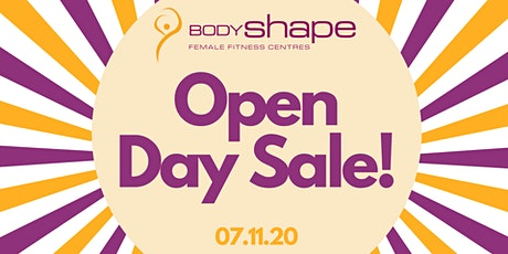 Body Shape Warringah Mall's Huge Open Day Sale! tickets