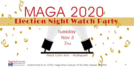 2020 ELECTION NIGHT WATCH PARTY tickets