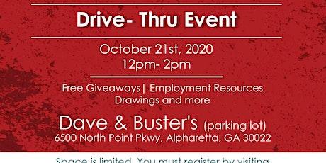 Drive-Thru Job Fair! MUSIC,  GIVEAWAYS, RESOURCES tickets