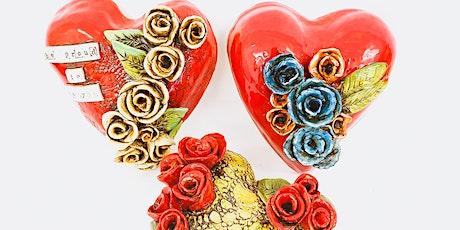 Sculpture Workshop: Wall Hearts tickets