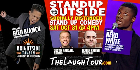 10/31 StandUp Outside! Comedy @ Brightside Jersey City tickets