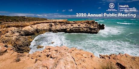 2020 Annual Public Meeting tickets