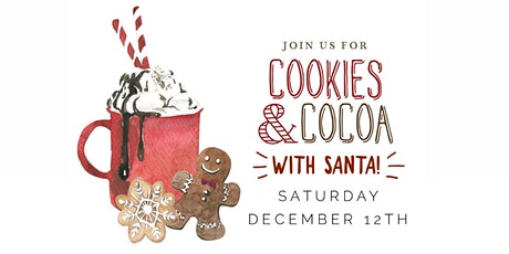 Cookies & Cocoa with Santa tickets