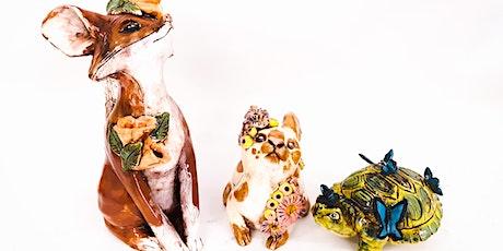 Sculpture Workshop: Small Animal Sculpture tickets