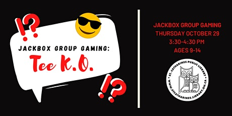 Jackbox Group Gaming Party tickets