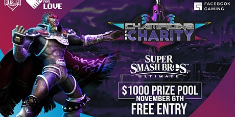 Smash Ultimate $1000 Tournament powered by Facebook Gaming billets
