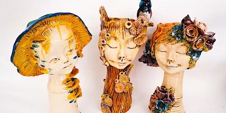 Sculpture Workshop: Large Head Planter tickets