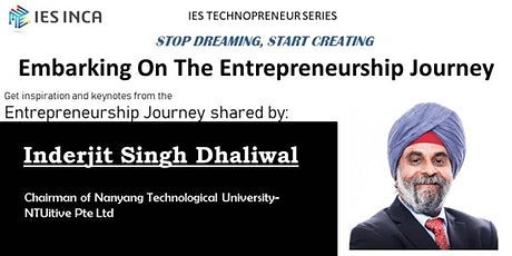 Embarking On The Entrepreneurship Journey tickets
