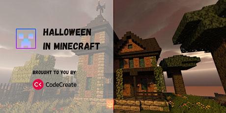 Halloween Coding in Minecraft tickets