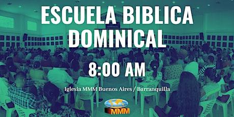 Escuela Biblica Dominical 8:00 AM boletos