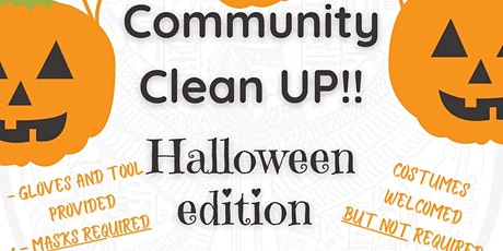 Community Clean Up (Halloween Edition) tickets
