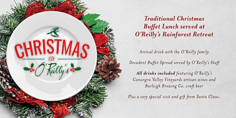 Traditional Christmas Buffet Lunch served at O'Reilly's Rainforest Retreat tickets