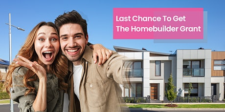 Last Chance Homebuilder Grant Event Series tickets