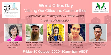 World Cities Day  - Valuing Our Cities and Communities tickets