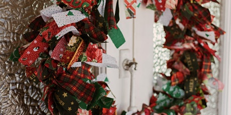 Coat-Hanger Christmas Wreath tickets