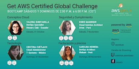 Get AWS Certified Global Challenge boletos