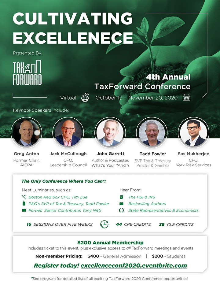 4th Annual Conference - Virtual - Cultivating Excellence image