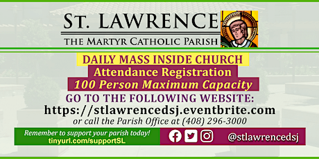 INDOORS: SATURDAY, November 7 @ 8:30 AM DAILY Mass Registration tickets