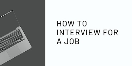 How to interview for a job tickets