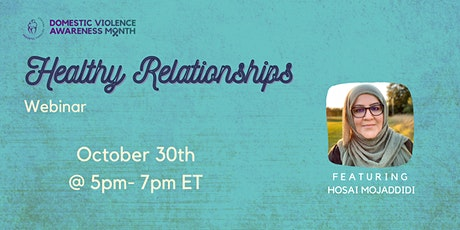 Healthy Relationships Webinar tickets