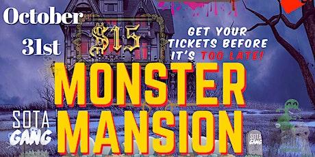 Monster Mansion tickets