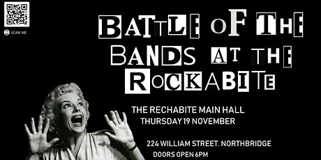 Battle Of The Bands @ The Rockabite tickets