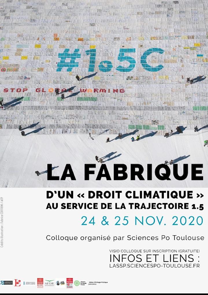 Image de La fabrique d'un « droit climatique » au service de la trajectoire 1.5