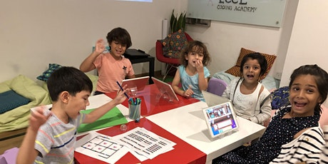Early Creators Pre-schoolers Coding Camp: Learn to Think and Code tickets