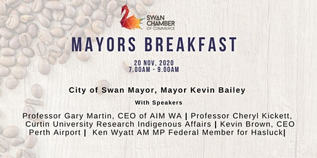 Swan Chamber Mayors Breakfast @ Crooked Spire tickets