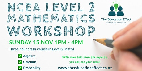 NCEA Level 2 Maths Workshop tickets