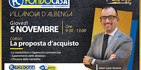 CORSO LA PROPOSTA D'ACQUISTO biglietti