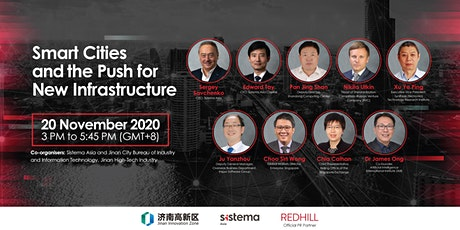 Smart Cities and the Push for New Infrastructure tickets