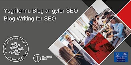 Blog Writing for SEO   Ysgrifennu Blog ar gyfer SEO tickets