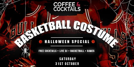 Coffee  Cocktails - Basketball Costume Party (Halloween Special) tickets